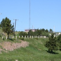 Bear Lodge: weather station (note the power lines)
