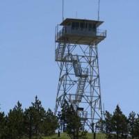 Bear Lodge: forest ranger station.
