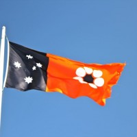 Flag of Australia's Northern Territory @ Anzac Hill, Alice Springs.