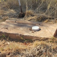 """The original """"bore"""" named after Mr. Nolan... at the Nolans Project, Northern Territory, Australia."""